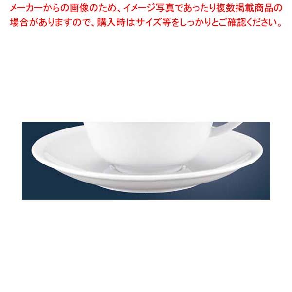 【まとめ買い10個セット品】 ローゼンタール カフェ・ラテソーサー 34677 メイチョー