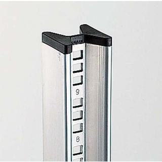 【まとめ買い10個セット品】 カワジュン シェルフ用ポスト ステンレス BC283A1800S 【 メーカー直送/後払い決済不可 】 メイチョー
