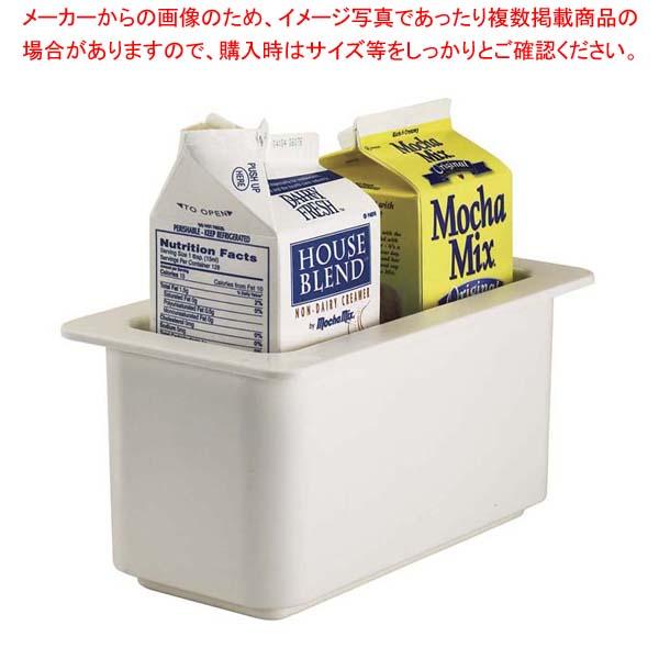 【まとめ買い10個セット品】 キャンブロ コールドフェストフードパン1/3-15cm 36CF(148)白 メイチョー
