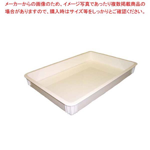 【まとめ買い10個セット品】 キャンブロ ピザ生地ボックス 浅型 DB18263CW(148) メイチョー