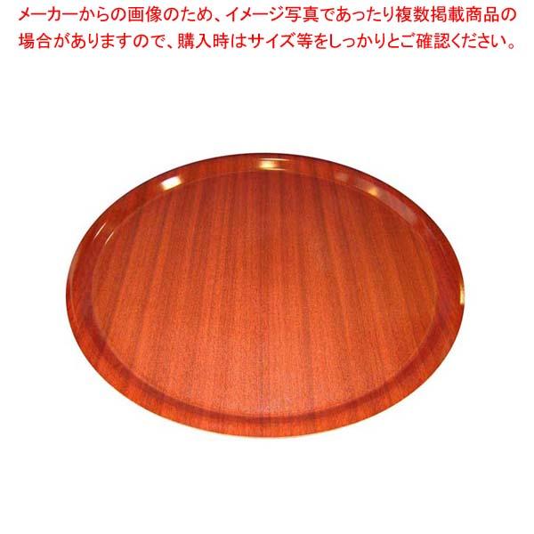 【まとめ買い10個セット品】 ユーロラミネートNSトレイ丸 MY4300E73 マホガニー メイチョー