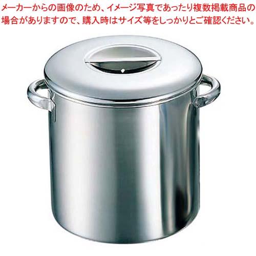 K 18-8 内蓋式 キッチンポット 目盛付 28cm 手付 【メイチョー】【 ガス専用鍋 】