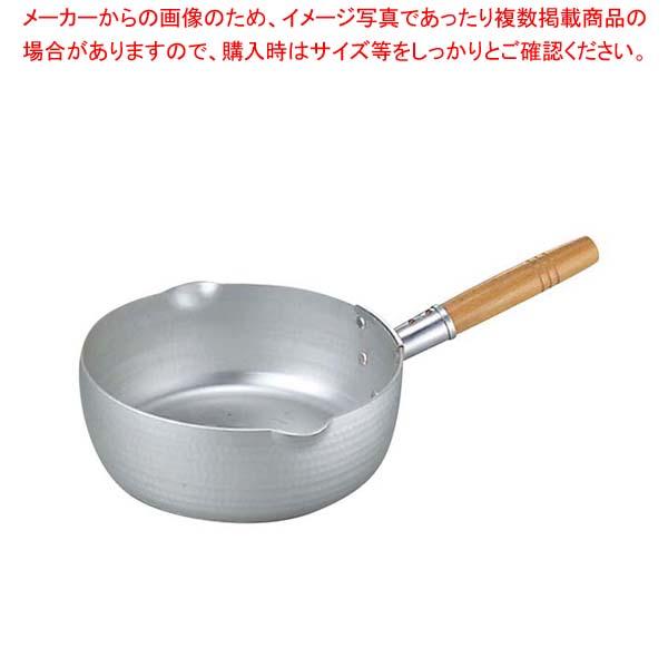 エコクリーン アルミ エレテック 雪平鍋 24cm 【メイチョー】