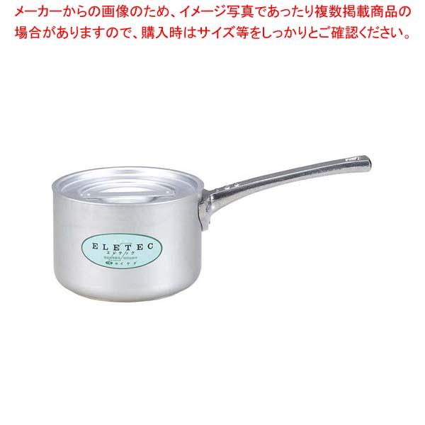 アルミ エレテック 片手鍋 18cm 【メイチョー】【 IH・ガス兼用鍋 】