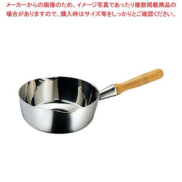 K 三層鋼 雪平鍋 30cm 【メイチョー】