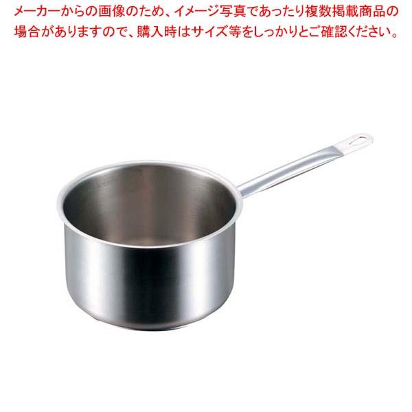 パデルノ 深型片手鍋(蓋無)1006-24cm 電磁 【メイチョー】