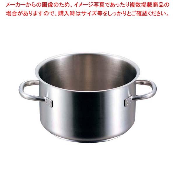 パデルノ 半寸胴鍋(蓋無)1007-40cm 電磁 【メイチョー】