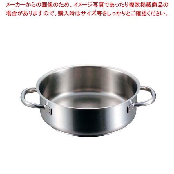 eb-6267300 40%OFFの激安セール パデルノ 外輪鍋 蓋無 1009-40cm メイチョー 大好評です 電磁 IH ガス兼用鍋