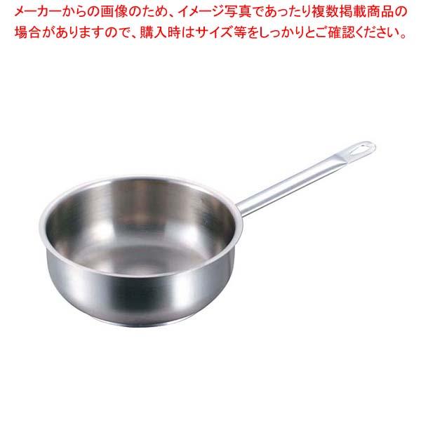 パデルノ ソテーパン(蓋無)1113-18cm 電磁 【メイチョー】
