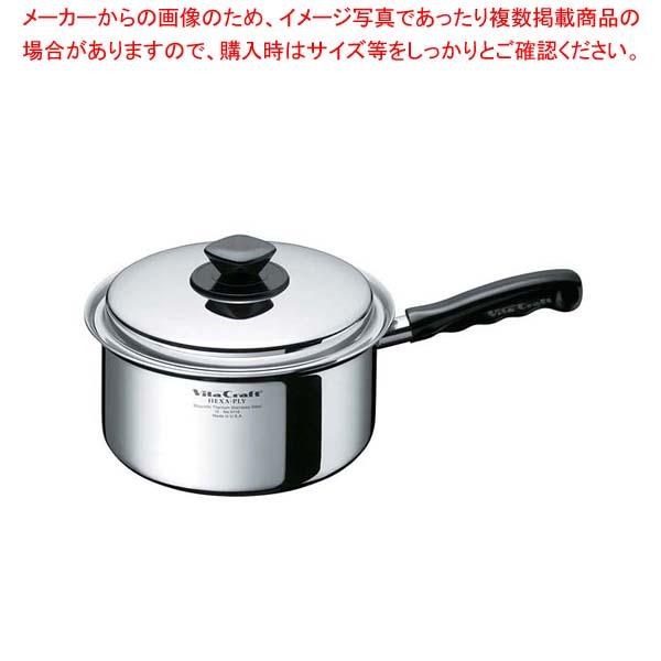 ビタクラフト ヘキサプライ 片手鍋 1.9L 6114 【メイチョー】