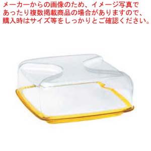 グッチーニ カッティングボード&ドーム 正方形(L)270000 88レモンイエロー 【メイチョー】【 オーブンウェア 】