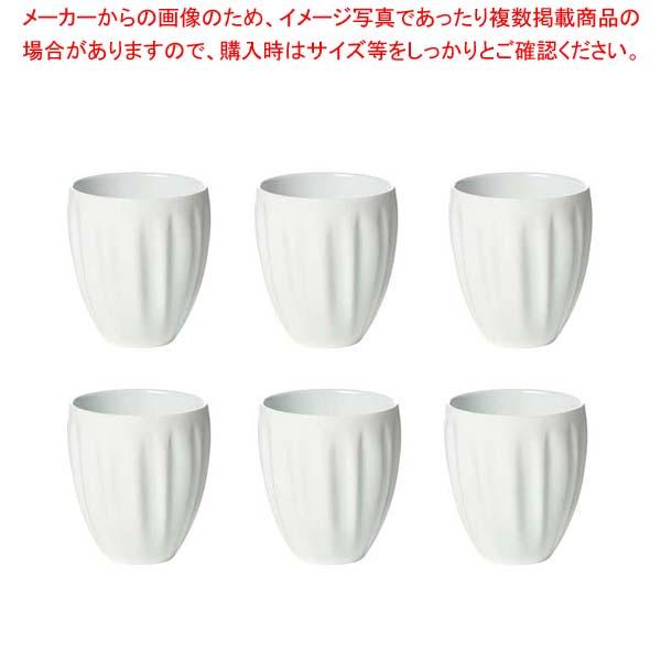 グッチーニ マグカップ6P 280700 11ホワイト 【メイチョー】【 オーブンウェア 】