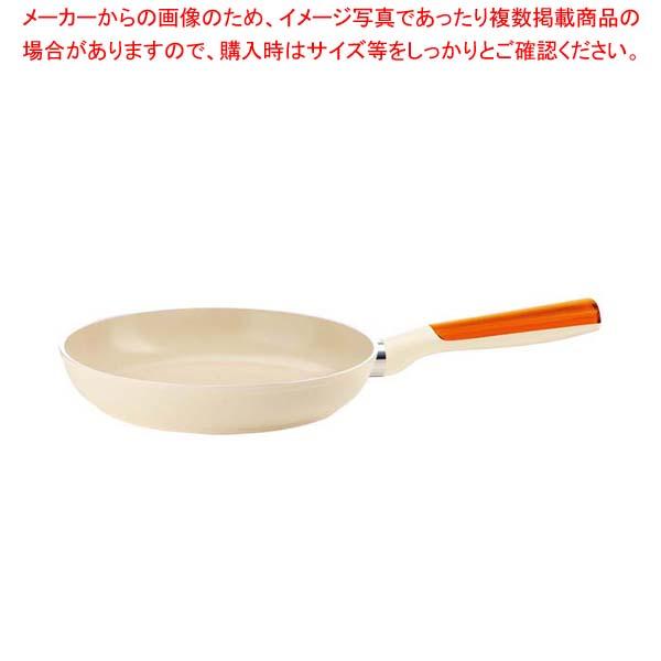 グッチーニ IHフライパン28cm 227812 45オレンジ 【メイチョー】【 オーブンウェア 】
