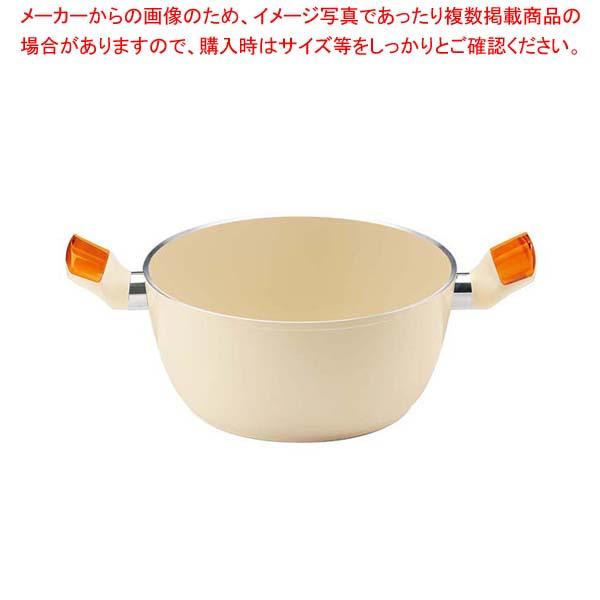 グッチーニ IHシチューポット 227912 45オレンジ 【メイチョー】【 オーブンウェア 】