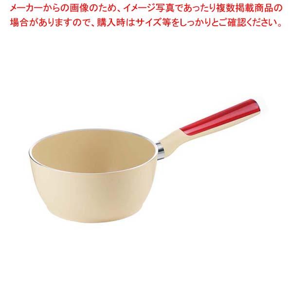 グッチーニ IH片手ソースパン20cm 227911 65レッド 【メイチョー】