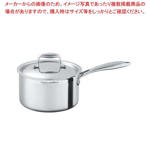 ビタクラフトプロ 片手鍋 24cm No.0113 【メイチョー】【 IH・ガス兼用鍋 】