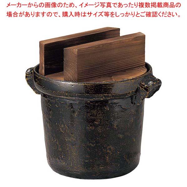アルミ電磁用8合ごはん鍋(焼杉蓋付)35244 【メイチョー】ビュッフェ関連