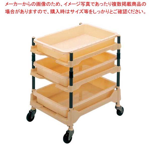 帯電防止型 バラカート 1X487P GF37 【メイチョー】カート・台車