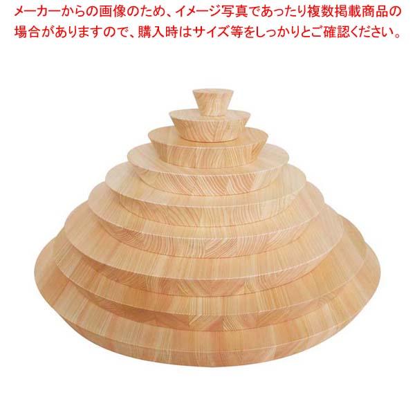 ヒノキ ラウンドプレート フラットタイプ 450 【メイチョー】ビュッフェ関連