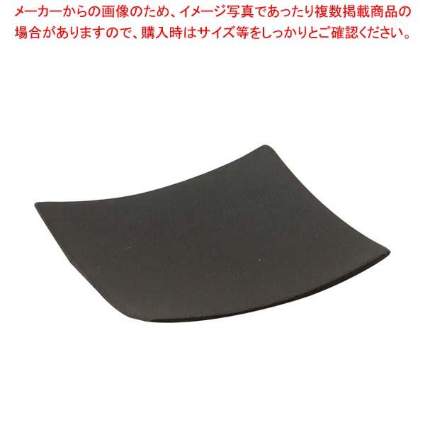 テーブルクラフト 使い捨て 角型プレート(48枚入)63×63黒 BAMDSBK2 【メイチョー】厨房消耗品