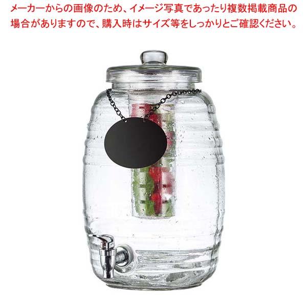 テーブルクラフト ガラス ビバレッジディスペンサー 9.5L BDG1000 【メイチョー】ビュッフェ・宴会