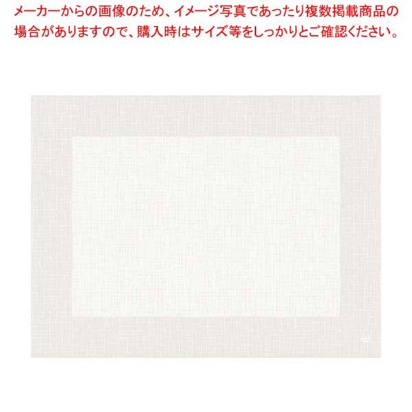 デュニセル リネアプレスマット(500枚)ホワイト GM178340 【メイチョー】料理演出用品
