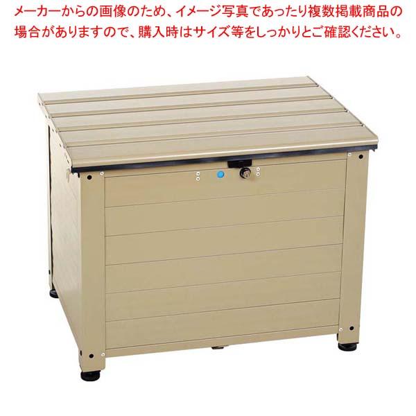 アルミベンチ型宅配ボックス レシーボ TRA-64(TGY) 【メイチョー】店舗備品・防災用品