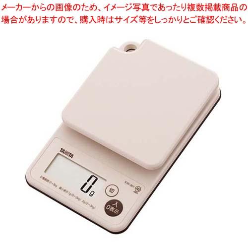 タニタ デジタルクッキングスケールKW-301 【メイチョー】ハカリ