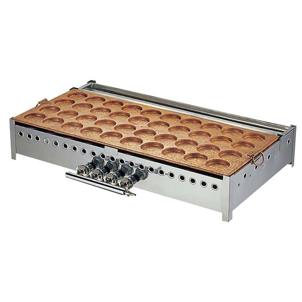大判焼機 40穴 φ78 【メイチョー】お好み焼・たこ焼・鉄板焼関連