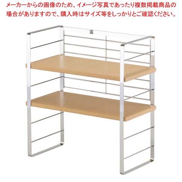 木棚の出窓シェルフ 40cm 30749 【メイチョー】清掃・衛生用品