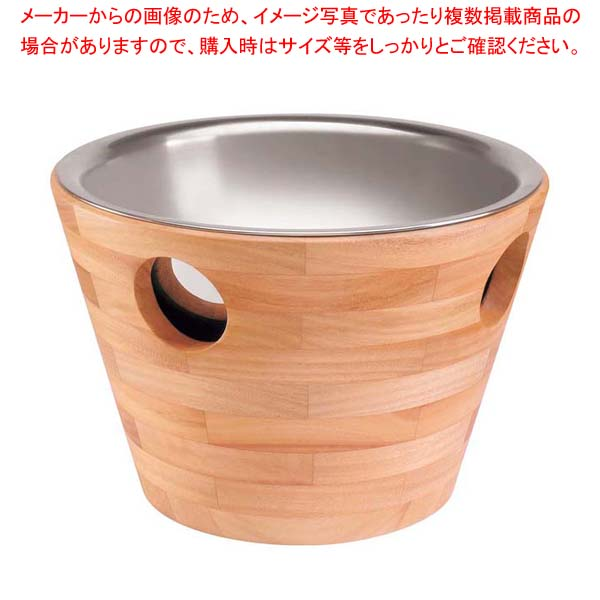 オリジン シャンパンクーラー(3本用)39cm 1021 【メイチョー】ワイン・バー用品