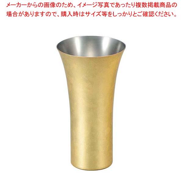 漆磨 箱銅華 ビアカップ 380ml CNS-L801 【メイチョー】グラス・酒器