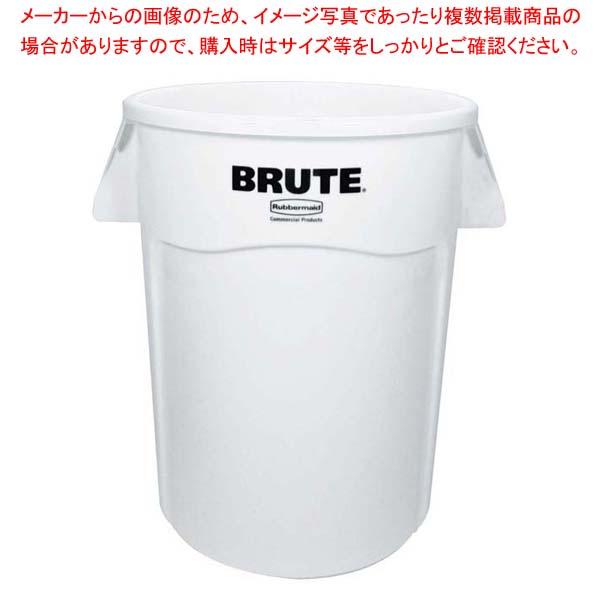 ラバーメイド ブルート・コンテナー RM1779740UTWT ホワイト 166L 【メイチョー】清掃・衛生用品