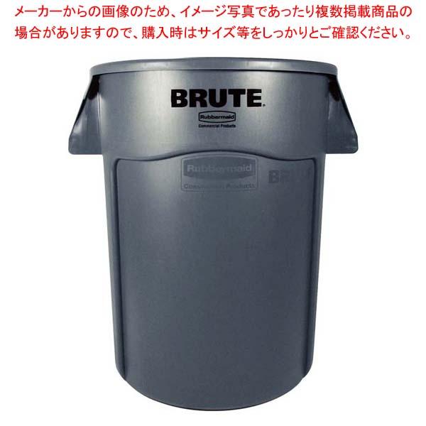 ラバーメイド ブルート・コンテナー RM2655UTGY グレー 208L 【メイチョー】清掃・衛生用品