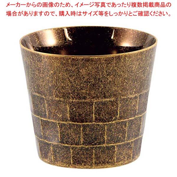 レトロ 18-8 二重タンブラー オールド ゴールド 【メイチョー】グラス・酒器