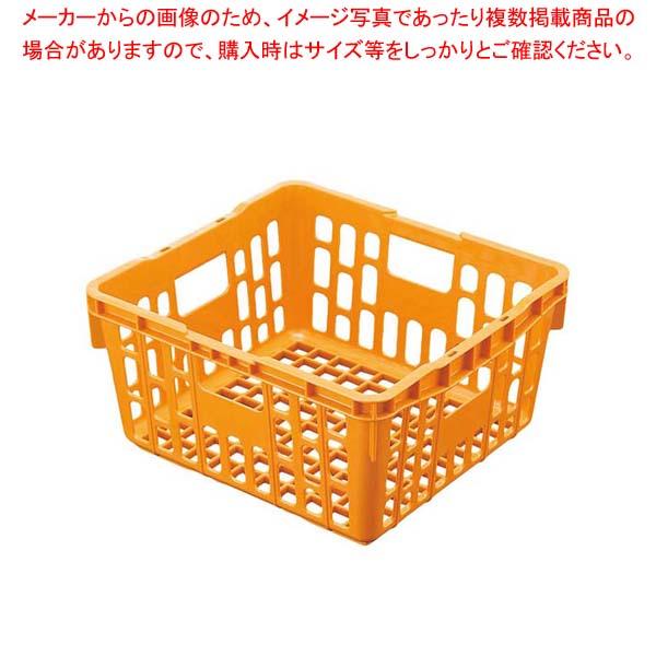 PP食器かご PK1 OG オレンジ 【メイチョー】バスボックス・洗浄ラック
