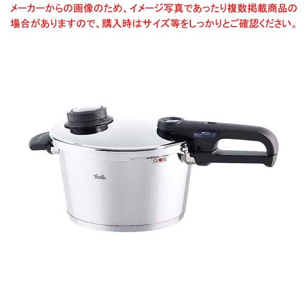 フィスラ- プレミアムプラス圧力鍋ガラス蓋付 6L(92-06-11-511) 【メイチョー】鍋全般