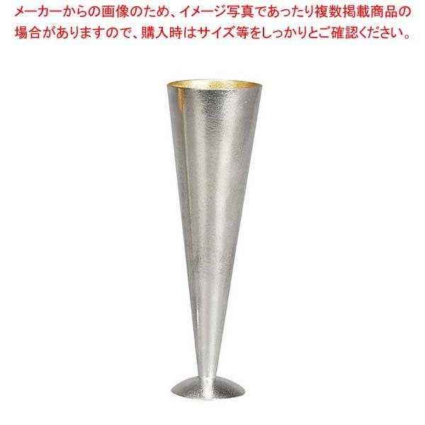 能作 錫 シャンパングラス 金箔 L 180cc 501345 【メイチョー】和・洋・中 食器
