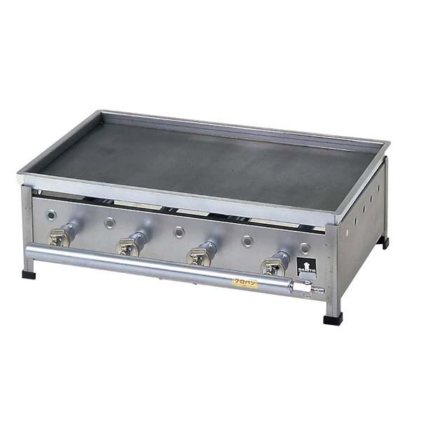ガス 小型 グリドル YSC-600 6B 【メイチョー】お好み焼・たこ焼・鉄板焼関連