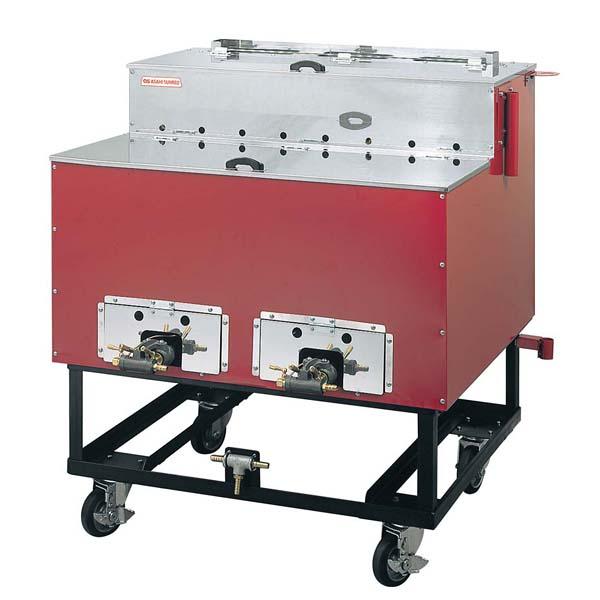 ガス 焼きいも機 いもランド 保温室付AY-1500型 【メイチョー】屋台・イベント調理機器