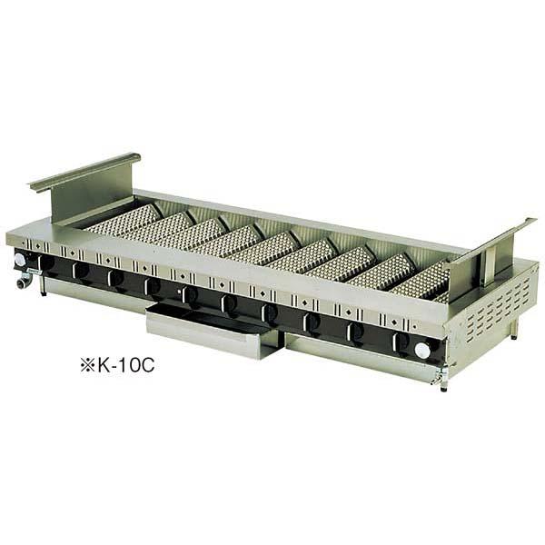 焼魚・蒲焼用焼物器 ローストクック K型 K-3C 【メイチョー】焼アミ