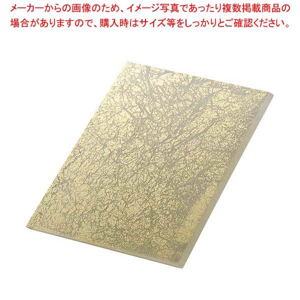 ライクガラス レクタングルプレート 金箔 1202339 【メイチョー】和・洋・中 食器
