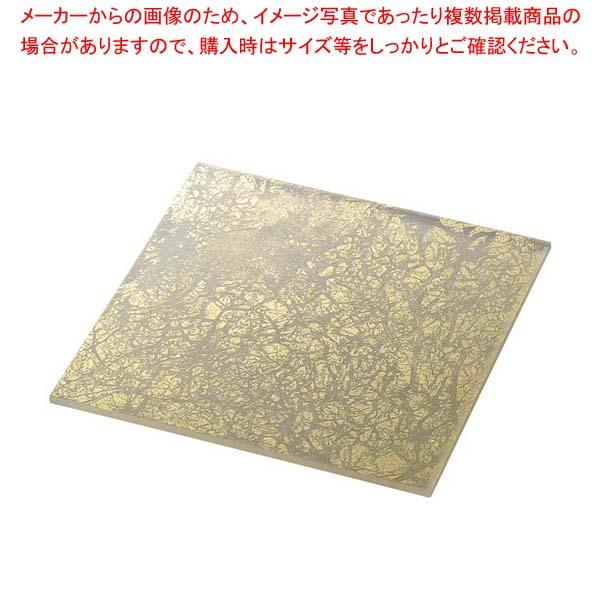 ライクガラス スクウェアプレート L 金箔 1202340 【メイチョー】和・洋・中 食器
