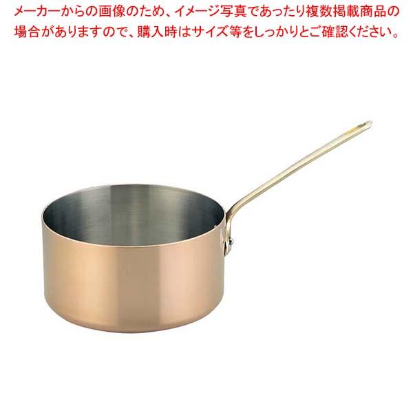 ムヴィエール カパーイノックス ソースパン 6720-12cm 【メイチョー】ガス専用鍋