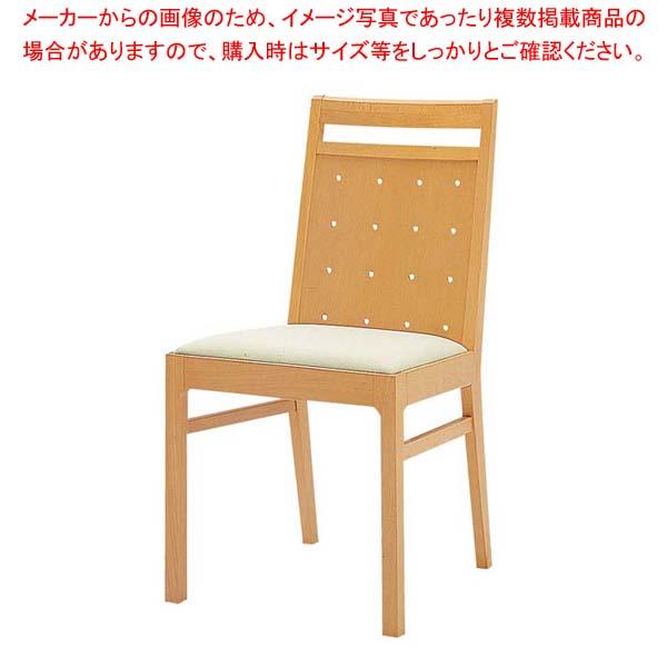 木製チェア SCW-4011・NB 【メイチョー】店舗備品・インテリア