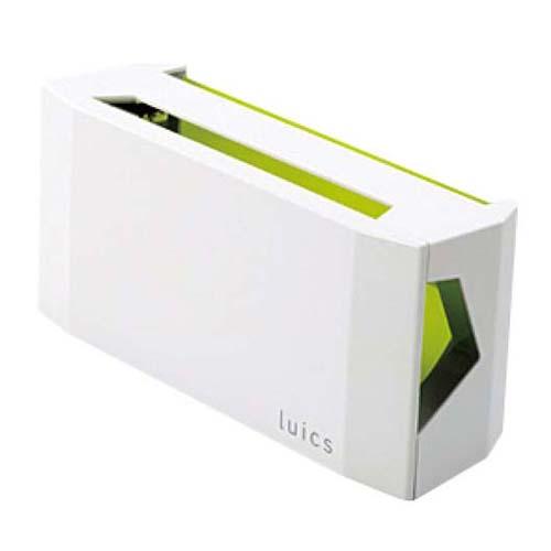 ルイクスC インテリア捕虫器 本体 クリスタルホワイト 【メイチョー】店舗備品・防災用品