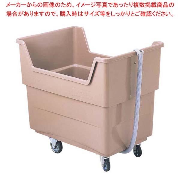 ビッグカー(排水ホース付)280L 1X592P GF16 【メイチョー】清掃・衛生用品