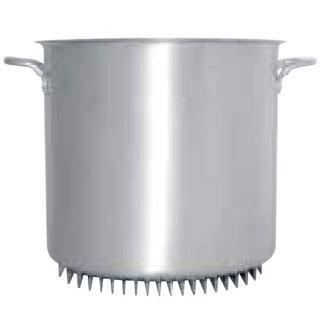 『 寸胴鍋 』アルミ エコライン寸胴鍋(蓋無) 42cm