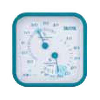 【まとめ買い10個セット品】温湿度計 TT-557 ブルー メイチョー