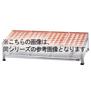 AKS 銅たこ焼機 28穴 Aタイプ 3連 LPガス メイチョー【 メーカー直送/後払い決済不可 】